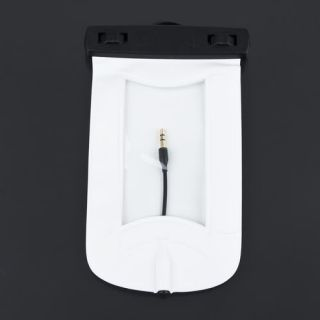 Waterproof Pouch Case Bag & Armband Earphone Headset For iPhone 4G 3GS