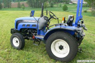 Allrad Traktor FOTON 254 Wendegetriebe Neu 2 Jahre Garantie mit