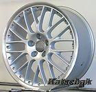 19 Titan perleffekt matt Audi A4 A5 A6 A7 TT Q5 A8 8,5x19 Zoll