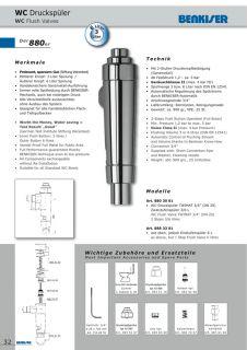 BENKISER Druckspüler Mod. 880 801001702 O