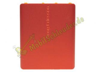 Akkudeckel original Sony Ericsson W880 W880i orange Deckel Cover NEU