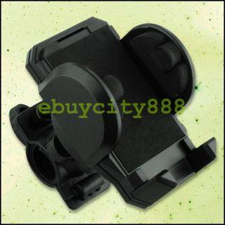 Schwarz Fahrrad Halterung Halter für Handy PDA GPS iPod