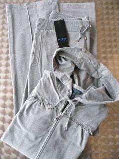 ESCADA SPORT Luxus Hoodie Jogginganzug Gr. XL 44 46 Sweatjacke Hose