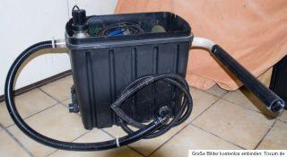 Teichfilter bis 10000 liter,mit Philips PL S11/2P UVC Lampe 11 Watt