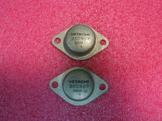 Marantz 2230/4270 Stereo Receiver   2 Original Hitachi 2SC897