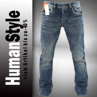 Neu Herren Jeans Hose Cipo & Baxx C 907 Blau Denim Regular Fit alle Gr