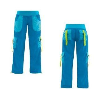 NEU ZUMBA Samba Cargo Pants   Vivid Blue / Blue Atoll   Gr. S