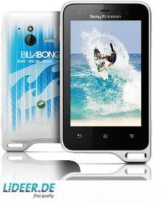 Sony Ericsson Xperia active (black white/Billabong), ST17i