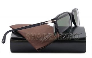 8621350858 ... NEW Persol Sunglasses PO 3019S BLACK 95 31 PO3019 55MM AUTH ...