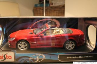 MAISTO MERCEDES BENZ MB 550 SL * SPECIAL EDITION * NEU * OVP * 118