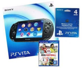 Sony PlayStation Vita WiFi + Spiel Fifa Football + 4GB Memory Card