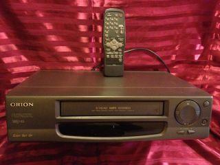Orion HiFi Stereo 6 Kopf Videorecorder VH 2900   Silbergrau   mit