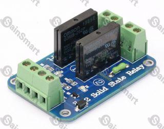 SainSmart 2 Kanal 5V Solid State Relais Modul Board.OMRON SSR AVR DSP