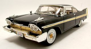Plymouth Fury 1958 schwarz, Modellauto 118 / Motormax