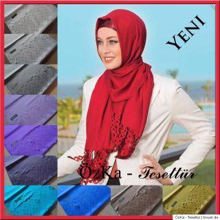 YENI Laser Lazer Kesim Sal Esarp Halstuch Scarf Hijab Esarp Dolama