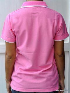 Shirt, Damen T Shirt Thaimassage Massagebekleidung, pink, Größe M