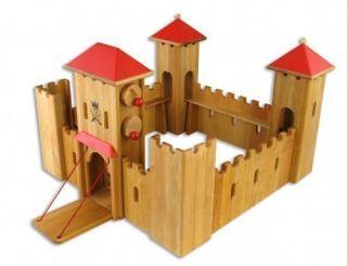 Drewart Ritterburg aus Holz groß 931 0140 NEU