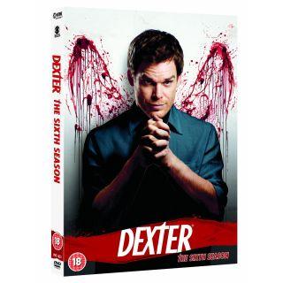 Dexter Komplette Sechste Staffel Season 6 NEU DVD