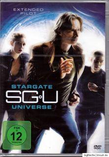 DVD   SGU   STARGATE UNIVERSE / EXTENDED PILOT (NEU&OVP)