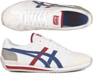 Asics Schuhe Onitsuka Tiger California 78 white/daphne blue/red weiß