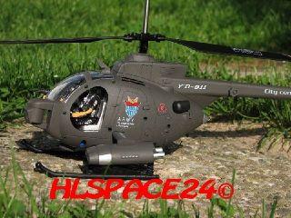 4x YD 911 Rotorblätter Hughes Defender RC Hubschrauber