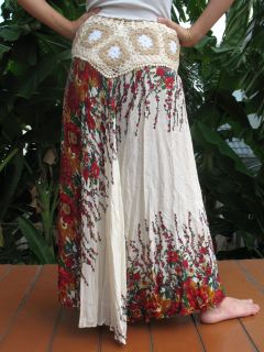 BOHO HIPPIE GYPSY ETHNO TRIBAL BATIK ROCK TUNIKA KLEID JJ 42 NEU