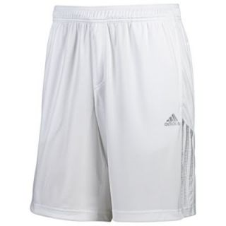 New adidas Mens Response Bermuda Tennis Shorts White Blue Gym Running