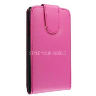 FOR LG PRADA 3.0 P940 PINK FLIP LEATHER CASE COVER + FREE TOUCH PEN