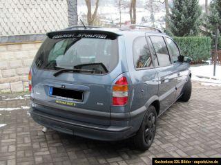 Opel Zafira A 2.0 DTI 16 V Comfort StandheizungXXL Bilder