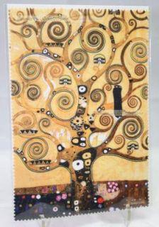 Brillenputztuch / Microfasertuch * Gustav Klimt * Der Lebensbaum