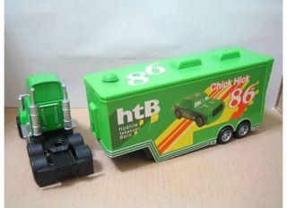 Disney Pixar CARS 2 Chick Hicks htB Hauler Super Liner Truck Diecast
