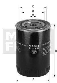 MANN Oelfilter Oel Filter Filterpatrone W 940/5 DEUTZ