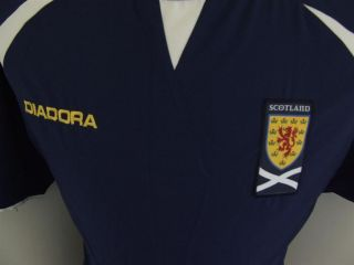 Trikot Schottland 2003/05 (M) Home Scotland Diadora Shirt Maglia