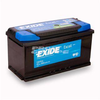 EXIDE EXCELL / 95Ah / Autobatterie / Starterbatterie / Batterie
