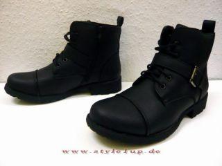 Jungen Herren Cowboy Stiefel Boots Winterstiefel Winterschuhe