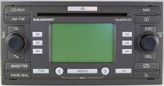 Radio Navigation Blaupunkt FORD Focus Fiesta TPEX  4M5T 18K931 CA