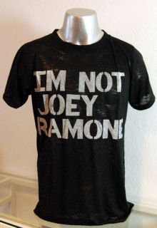 STINGRAY T Shirt IM NOT JOEY RAMONE The Ramones