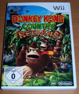 DONKEY KONG Country Returns ~ ~ Nintendo Wii ~ WIE NEU