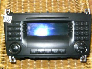 Mercedes 203 Radio CD Audio 20 W203 ab Mopf Sportcoupe 2038703489