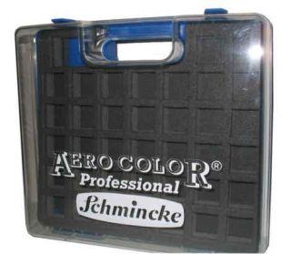 Schmincke, Kunststoff Leer Koffer blau 81 936 097