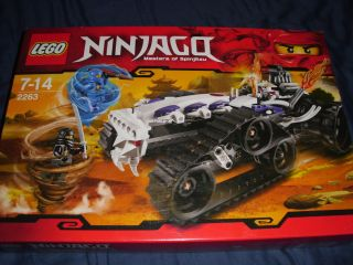 Lego Ninjago Turbo Shredder inkl. 3 Figuren Jay , Cole , Frakjaw