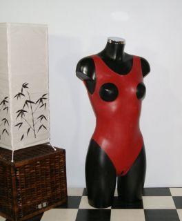 Sie bieten hier auf einen Latex Damen Body   Rubber Suit   mit