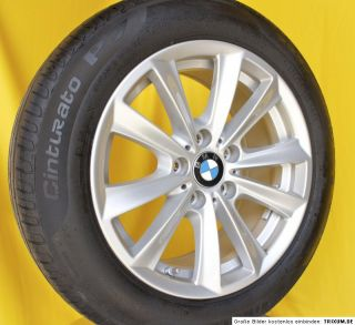 Original BMW 5er F10 17 Zoll Alufelgen V Speiche Styling 236