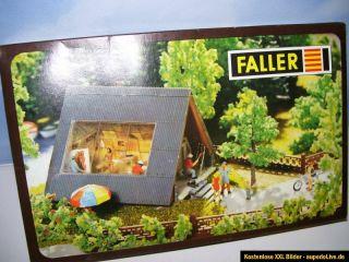 Faller B 255 Spur H0 Bausatz Atelier mit 4 Figuren und Lichtset NEU in