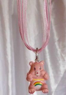 Glücksbärchis ♥HURRABÄRCHI♥ Kette/ Care Bears ♥CHEER BEAR