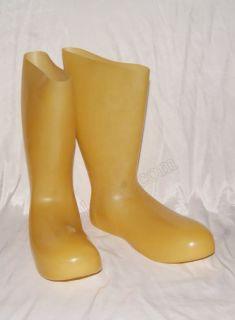 Latex Gummi Socken von Latexa Heavy Rubber Gummistiefel Gay Stockings