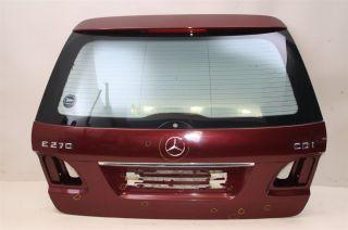 Heckklappe Mercedes E Klasse 270 CDI Kombi Weinrot 03  tail gate