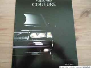 Volvo 960 Couure Prospek brochure 1996