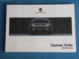 Betriebsanleitung Bedienungsanleitung Anleitung Porsche Cayenne Turbo