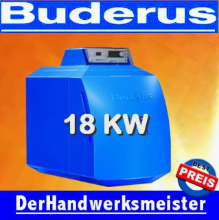 Buderus GB125   18kw Öl Brennwert Kessel Brenner Logano plus